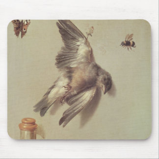 Still Life of Dead Birds and a Mouse, 1712 Mouse Pad