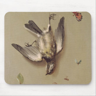 Still Life of Dead Birds and Cherries, 1712 Mouse Pad
