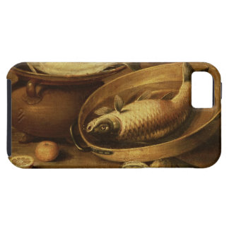 Still Life of Fish and Lemons iPhone SE/5/5s Case