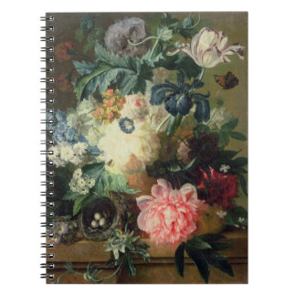 Still Life of Flowers 2 Spiral Note Books