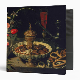 Still Life of Flowers and Dried Fruit, 1611 Binder