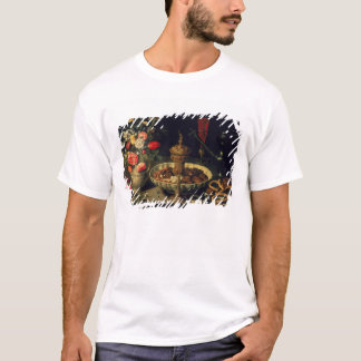 Still Life of Flowers and Dried Fruit, 1611 T-Shirt
