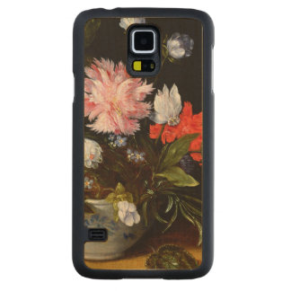 Still Life of Flowers Carved® Maple Galaxy S5 Slim Case