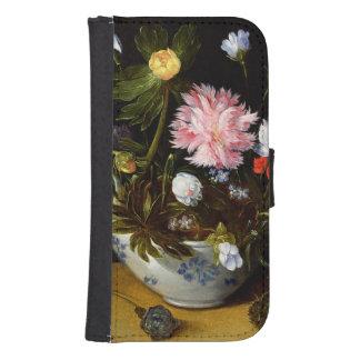 Still Life of Flowers Galaxy S4 Wallet Case