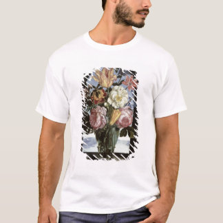 Still life of flowers in a drinking glass T-Shirt