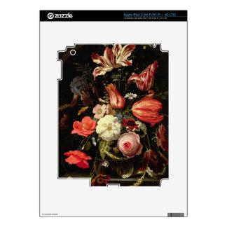 Still Life of Flowers on a Ledge iPad 3 Skins