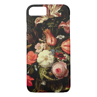 Still Life of Flowers on a Ledge iPhone 8/7 Case