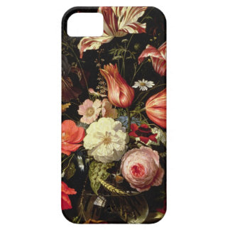 Still Life of Flowers on a Ledge iPhone SE/5/5s Case