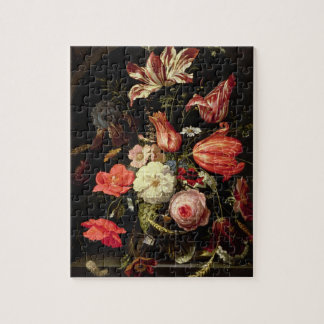 Still Life of Flowers on a Ledge Puzzle