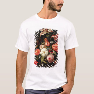 Still Life of Flowers on a Ledge T-Shirt