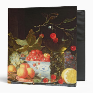 Still Life of Fruit 3 Ring Binder