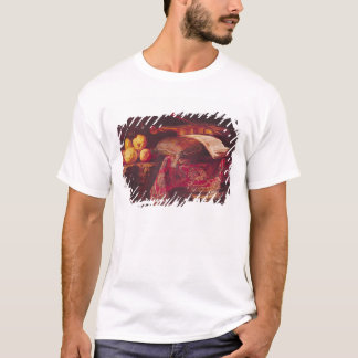 Still Life of Fruit and Musical Instruments T-Shirt