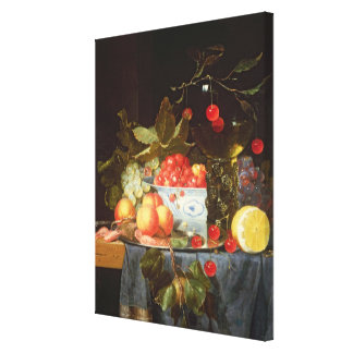 Still Life of Fruit Gallery Wrap Canvas