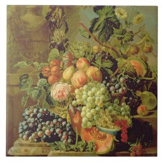 Still Life of Fruit Ceramic Tile