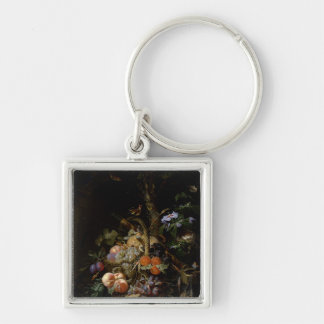 Still life of fruit keychain
