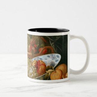 Still Life of Fruit Two-Tone Coffee Mug