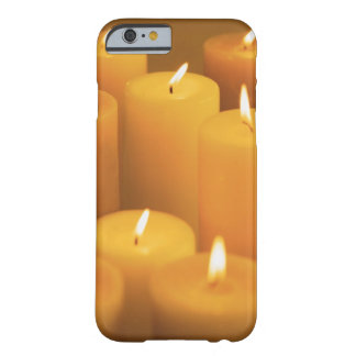 Still life of lighted candles barely there iPhone 6 case