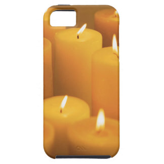 Still life of lighted candles iPhone SE/5/5s case
