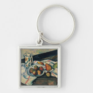 Still Life of Peaches and Pears, 1888-90 Keychain