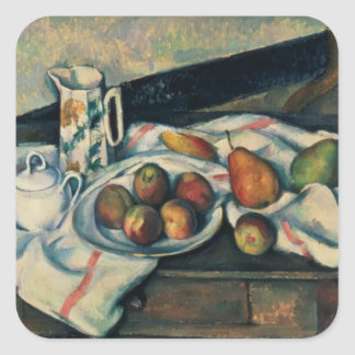 Still Life of Peaches and Pears, 1888-90 Stickers