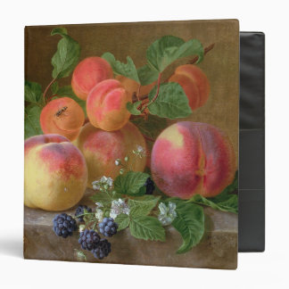 Still Life of Peaches Binder