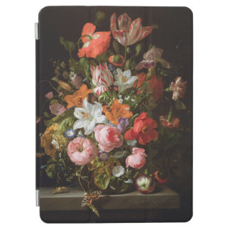 Still life of roses  lilies, tulips iPad air cover
