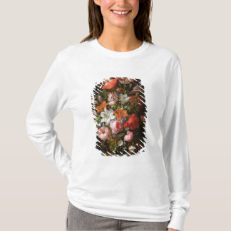Still life of roses  lilies, tulips T-Shirt