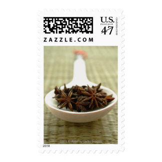 Still life of Star Anise in spoon Postage