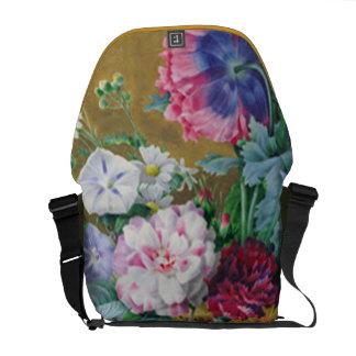 Still Life of Summer Flowers Courier Bag