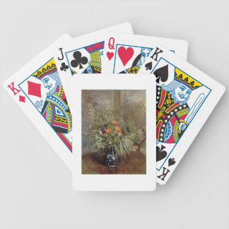 Still Life of Wild Flowers Deck Of Cards