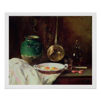 Still Life (oil on panel) 2 Posters