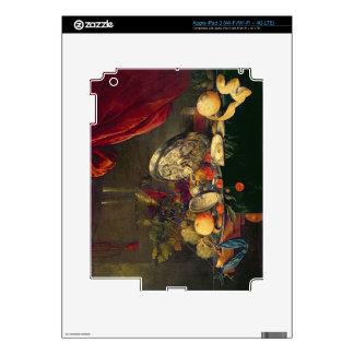 Still Life (oil on panel) iPad 3 Decal