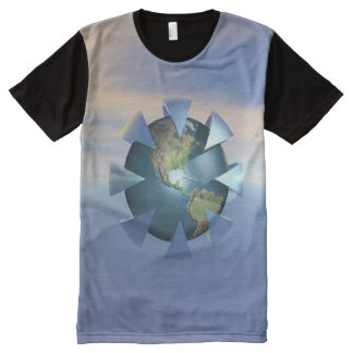 Still Life On Earth All-Over Print T-shirt