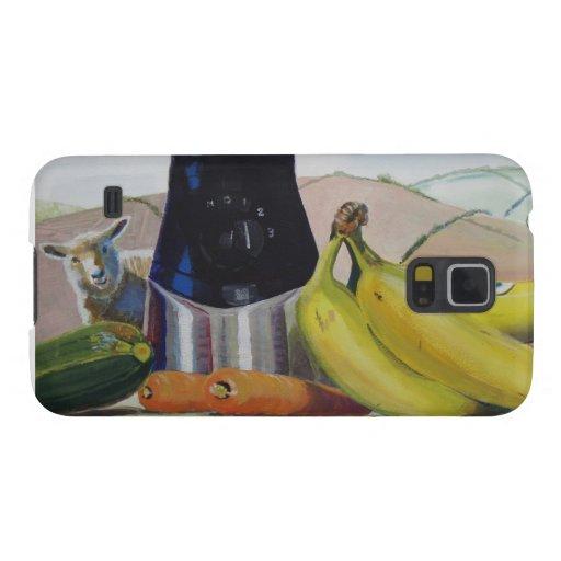 Still life painting fruit vegetables blender galaxy s5 cover