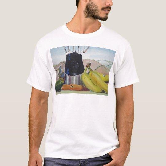 Still life painting fruit vegetables blender T-Shirt