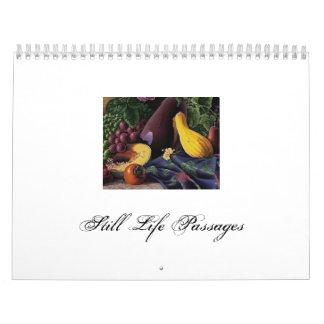 Still Life Passages Calendar