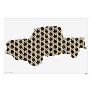 Still Life Pattern of Leaves Georgia O'Keefe Wall Decal