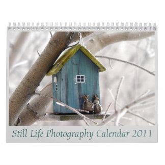 Still Life Photography Calendar 2011