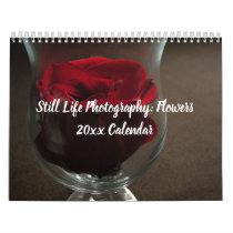 Still Life Photography Flowers Calendar