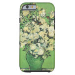Still life - Pink Roses in a Vase Vincent an Gogh, iPhone 6 Case