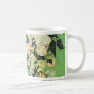Still life - Pink Roses in a Vase, Vincent van Gog Mugs