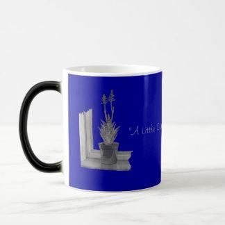 Still life pot plant drawing realist art magic mug