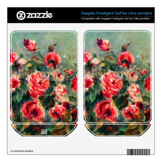 Still life roses of Vargemont by Claude Monet FreeAgent GoFlex Skin