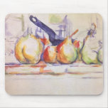 Still Life Saucepan by Cezanne, Impressionism Art Mousepad