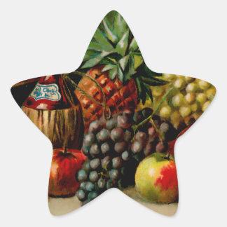 Still Life Star Sticker
