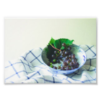 Still-Life Summer Grapes Photo Print