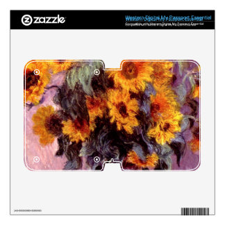 Still life: Sunflowers by Claude Monet WD My Passport Skins