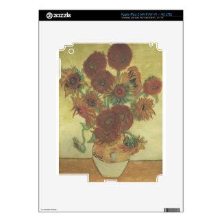 Still Life: Sunflowers iPad 3 Skin