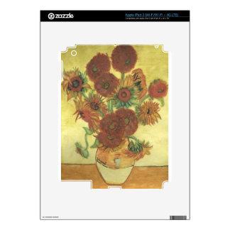 Still Life: Sunflowers iPad 3 Skins