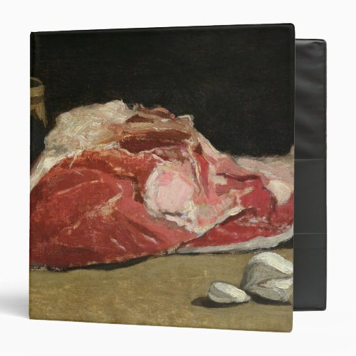 Still Life, the Joint of Meat, 1864 Vinyl Binder
